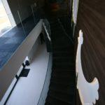 Szklana balustrada do schodów