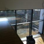 Szklana balustrada firmy vitroglass