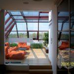 szklana ścianka w domu