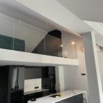 Szklana balustrada domowa firmy Vitroglass