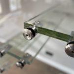 element schodów szklanych